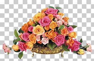 Flower Bouquet Gift Garden Roses Artificial Flower PNG