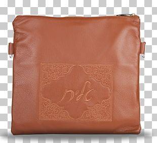 Handbag Messenger Bags Leather Brown Caramel Color PNG