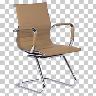 Wing Chair Office Furniture Cantilever Chair PNG
