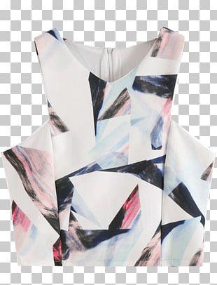 Sleeve Crop Top Tube Top Skirt PNG