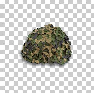 Military Camouflage Helmet Net PNG