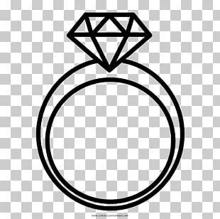 Wedding Ring Drawing Diamond Engagement Ring PNG