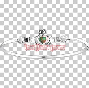 Bracelet Bangle Silver Jewellery Claddagh Ring PNG