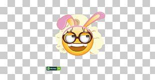 Smiley Easter Bunny Emoticon Emoji Rabbit PNG