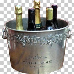 Champagne Moët & Chandon Wine Glass Bottle PNG