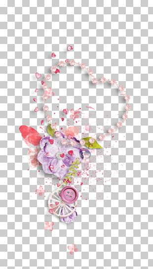 Petal Flower Floral Design Necklace Body Jewellery PNG