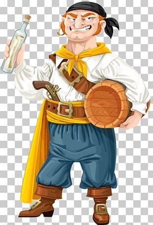 Rum Bottle Barrel Illustration PNG
