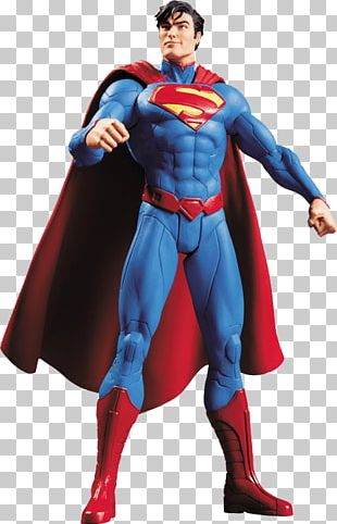 Superman Batman The New 52 Justice League Action & Toy Figures PNG