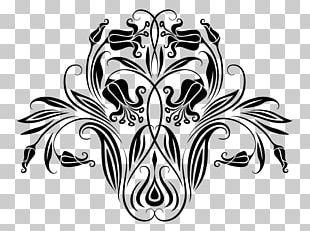 Logo Black And White Motif Visual Arts Pattern PNG