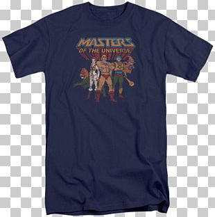 T-shirt He-Man Masters Of The Universe Sleeve PNG