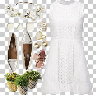 Cocktail Dress Neck Pattern PNG