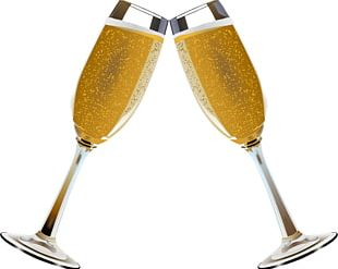 Champagne Glass Beer Wine PNG