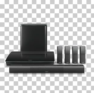 Home Theater Systems Bose 5.1 Home Entertainment Systems Bose Corporation 4K Resolution 5.1 Surround Sound PNG