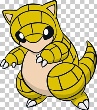Sandshrew Pokemon PNG