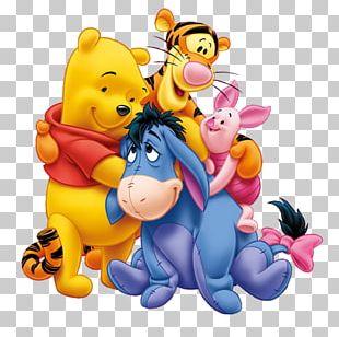 Winnie The Pooh Piglet Eeyore Tigger Roo PNG