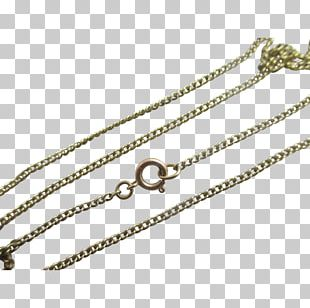 Chain Necklace Colored Gold Jewellery PNG