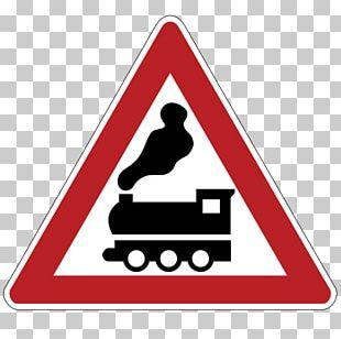 Rail Transport Traffic Sign Road Warning Sign PNG
