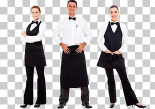 Waiter Stock Photography Catering Uniform Clothing PNG