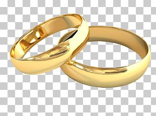 Pair Of Wedding Rings Jewelry PNG