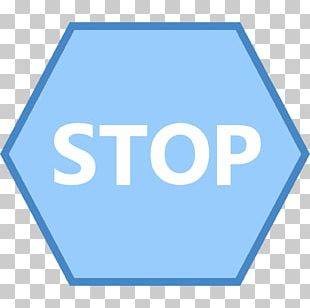 Stop Sign Animation Motion Graphics PNG