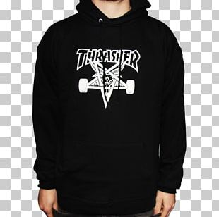 Thrasher Presents Skate And Destroy T-shirt Hoodie Skateboarding PNG