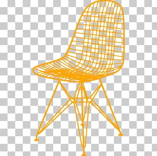 Eames Lounge Chair Wire Chair (DKR1) Charles And Ray Eames Vitra PNG