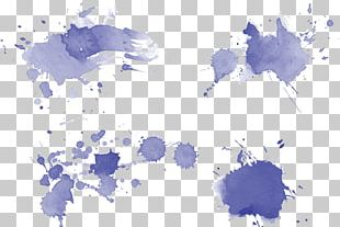 Watercolor Painting Euclidean Ink PNG