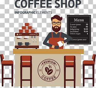 Coffee Cafe Espresso Barista PNG