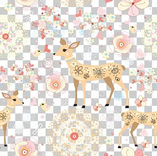 Deer Sticker Wall Decal PNG