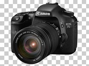 Canon EOS 7D Canon EF-S 18–135mm Lens Digital SLR Camera Lens PNG