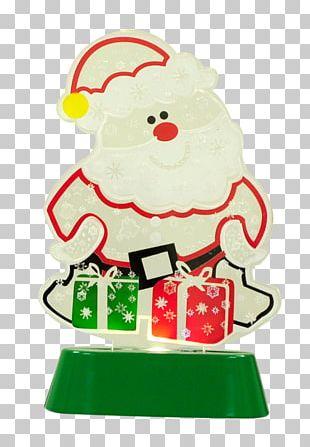Santa Claus Christmas Ornament Christmas Tree Food PNG