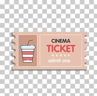 Ticket Cinema Film PNG
