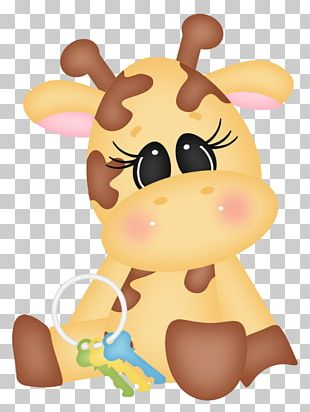 Northern Giraffe Infant Drawing PNG