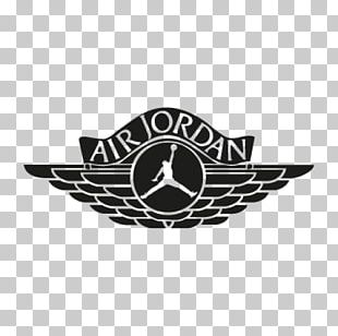 Jumpman Air Jordan Logo Shoe PNG