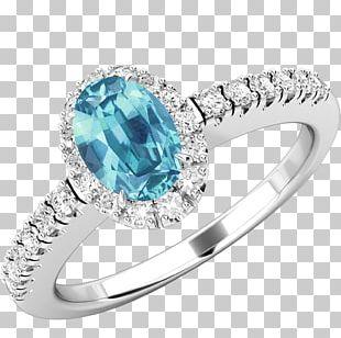 Diamond Ring Gold Gemstone Sapphire PNG