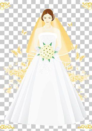 Wedding Dress Bride Marriage PNG