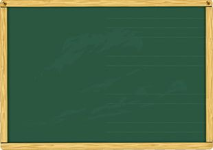Blackboard Green Wood Stain Varnish Rectangle PNG