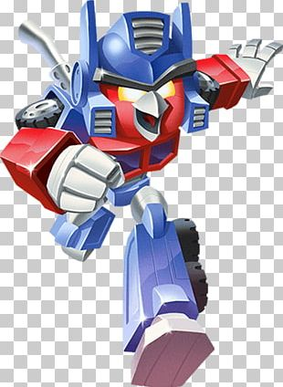 Angry Birds Transformers Angry Birds Action! Optimus Prime Angry Birds Epic PNG