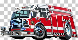 Fire Engine Photography PNG