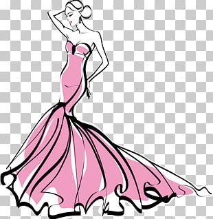 Fashion Illustration Designer Fashion Show PNG