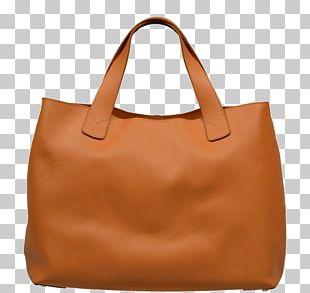 Tote Bag Leather Handbag Longchamp PNG