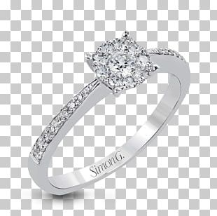 Engagement Ring Jewellery Gold Wedding Ring PNG