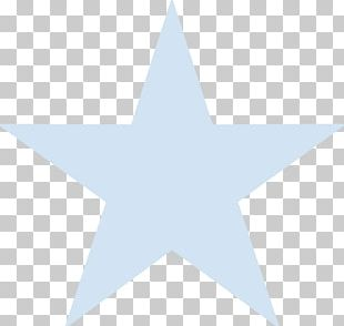 Light Blue Star PNG