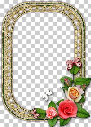 Frames Flower Drawing Mirror PNG