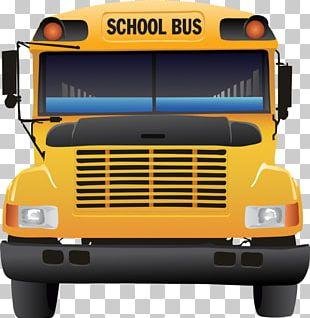 School Bus Bus Driver PNG
