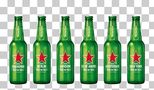 Lager Beer Heineken International Bottle PNG