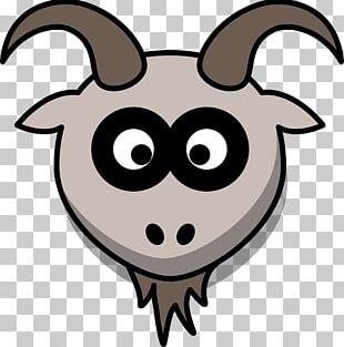 Boer Goat Drawing Cartoon PNG