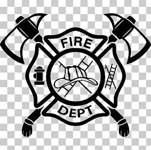 Firefighter Fire Department Maltese Cross Paramedic PNG