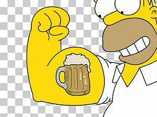 Homer Simpson Beer Bart Simpson Marge Simpson Moe Szyslak PNG