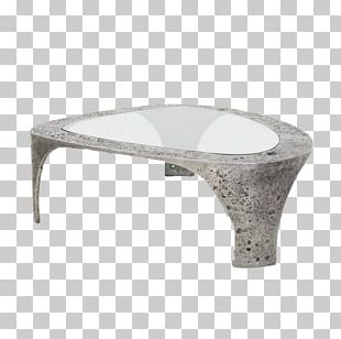 Coffee Table Marble Glass PNG